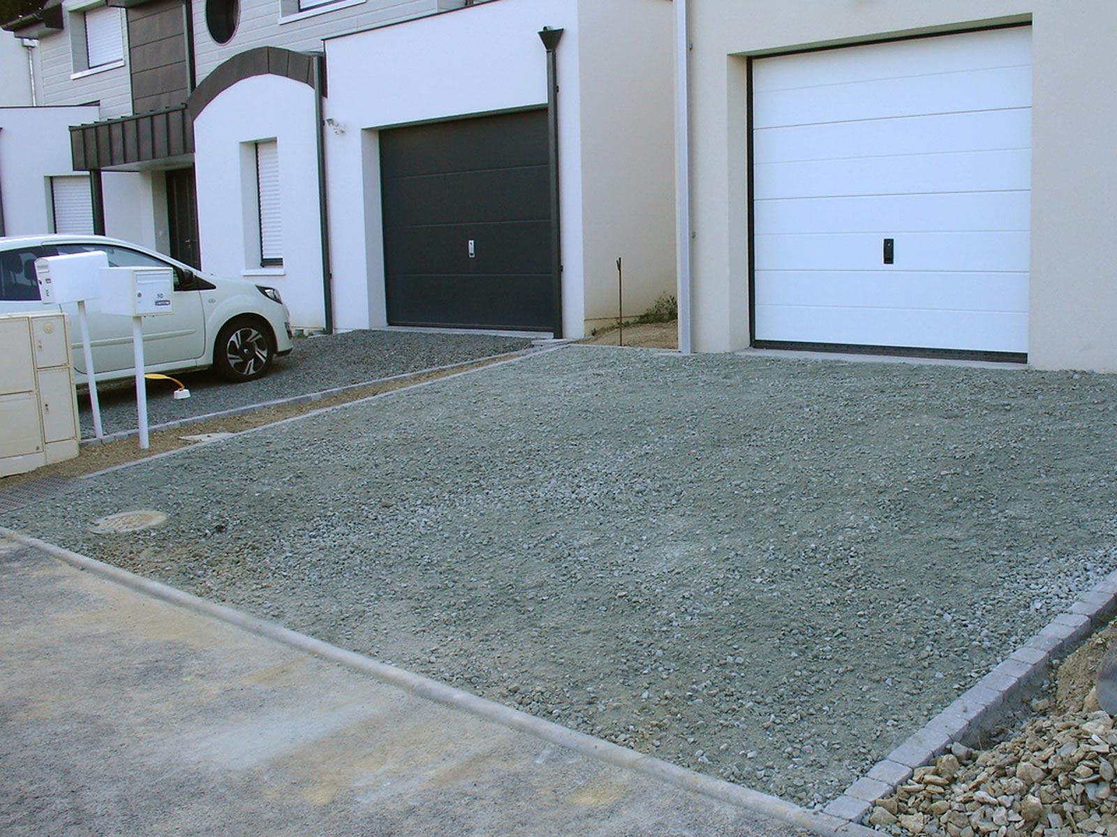 Cesbron Terrassement Voirie Privative Amenagement Entree Garage